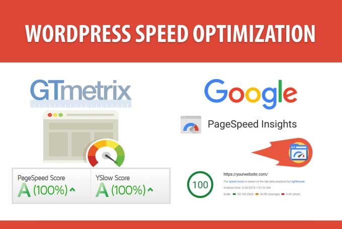 site wordpress rapid prin optimizare